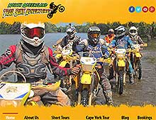 North Queensland Trail Bike Adventures Website