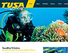 Tusa Dive New Website