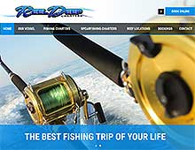 Reel Deep Charters Website