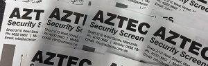 Aztec Security Screens New Website