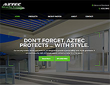 Aztec Security Screens New Website