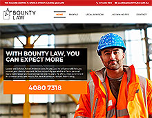 Bounty Law Website