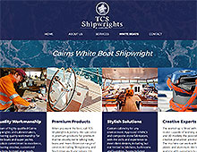 TCS Shipwrights Website