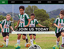 Caravella Football Academy Website