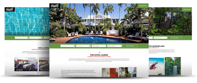 Cairns Hotel Websites