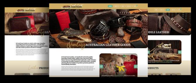 Coral Coast Leather